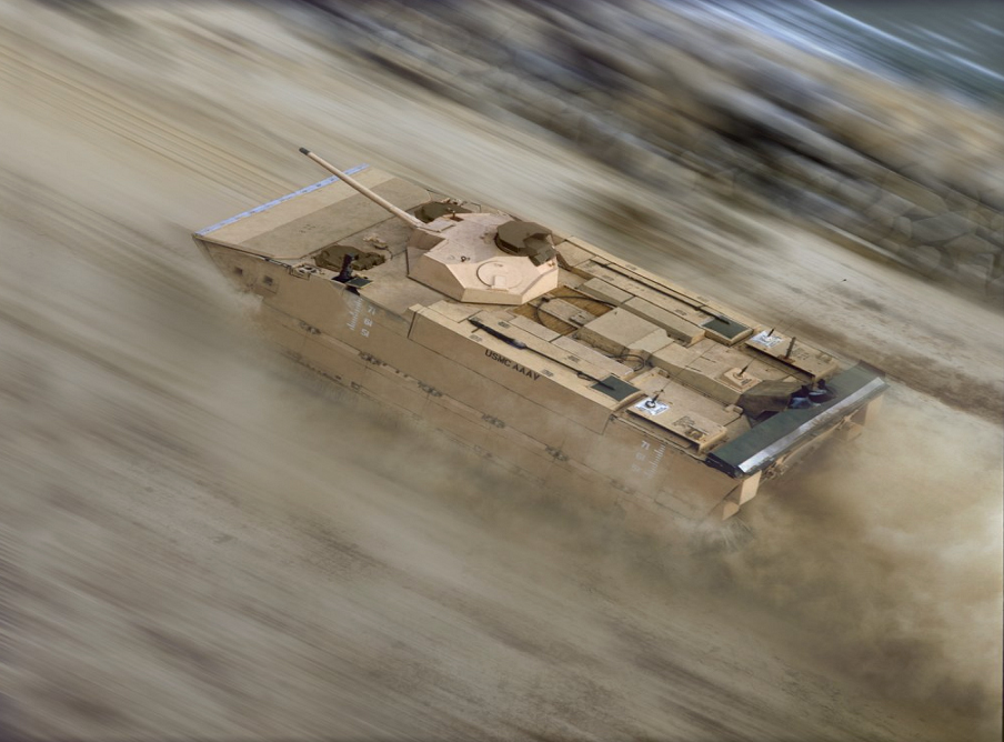 Expeditionary_Fighting_Vehicle_at_speed