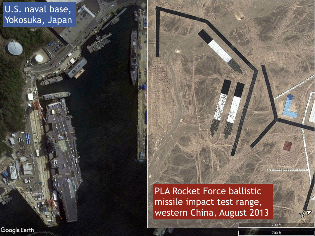 Has China Been Practicing Preemptive Missile Strikes Against US - Earth map us china